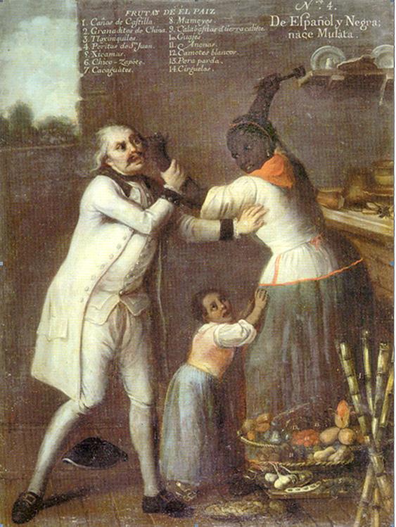 Pintores criollos pintura de castas y colonialismo for Casas de la epoca actual
